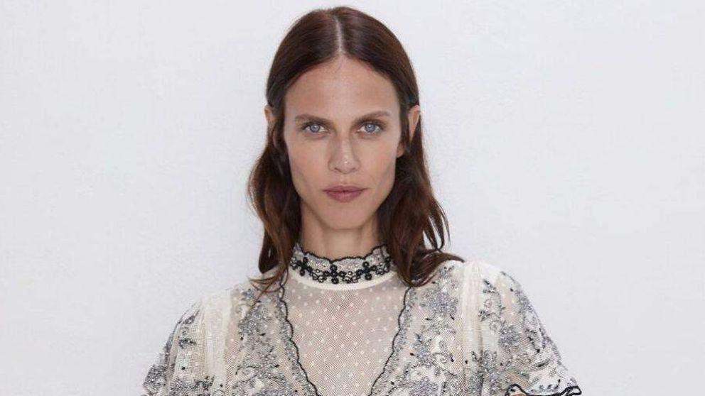 El vestido corto edición limitada más bonito del mundo está en Zara