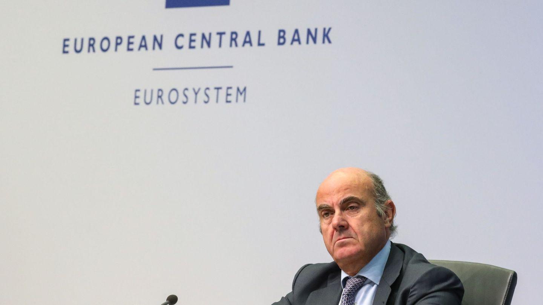 Luis de Guindos, en una reunión del BCE.