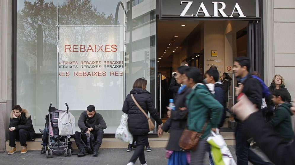 Foto: Tienda de Zara en Barcelona (Efe)