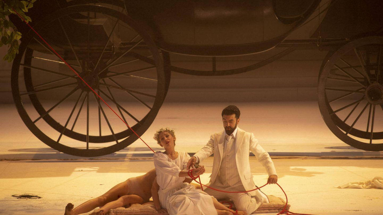 Anna Lucia Richter (Zerlina) y Davide Luciano (Don Giovanni). (Ruth Walz)