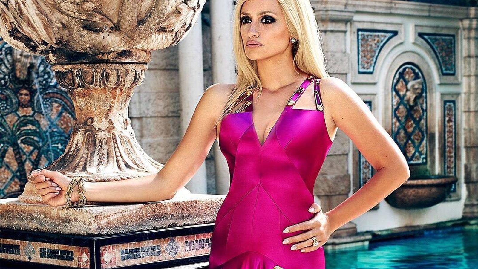 Foto: Penélope Cruz brilla en la televisión americana como Donatella Versace. (EW)