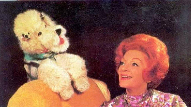 Herta Frankel junto a Marilyn