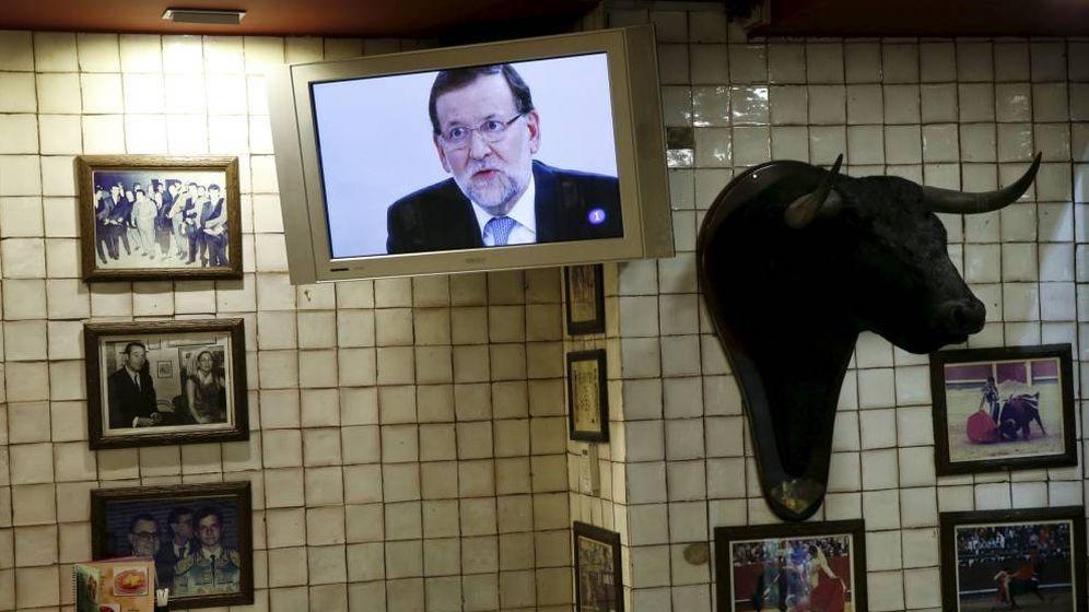 Foto: El expresidente Mariano Rajoy en una imagen de televisión de archivo. (Reuters)