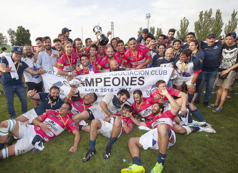 El Quesos se alza con el título liguero de rugby, el séptimo de su historia