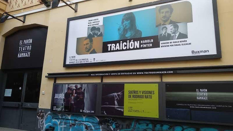 'Traición', en el Kamikaze, no llegó a ser estrenada por la pandemia en marzo. (Paula Corroto)
