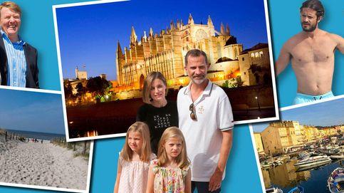 Las vacaciones de la realeza europea: relax sin polémicas