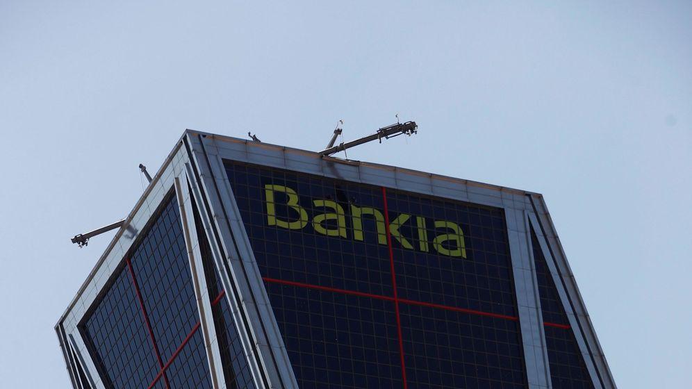 Foto: Torre Bankia, en plaza de Castilla. (EFE)