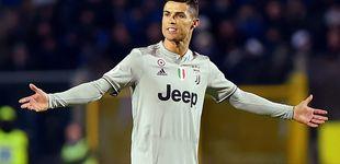Post de El estrés de un cabizbajo Cristiano Ronaldo en su peor momento con la Juventus