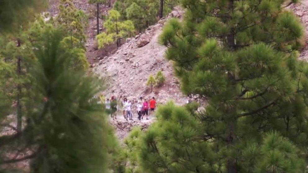Una jueza canaria condena a una veintena de jóvenes a realizar una ruta de 45 kilómetros