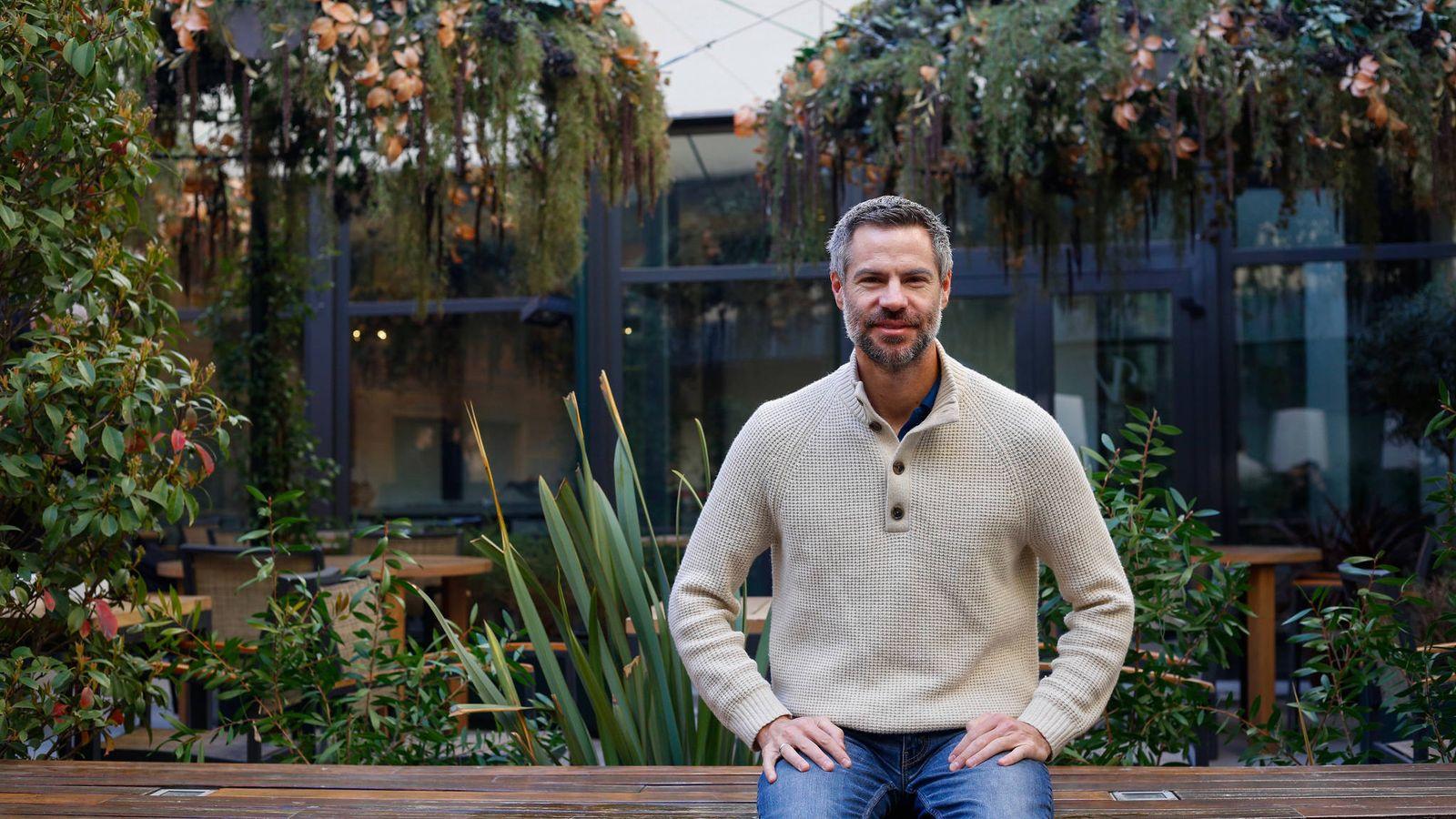 Foto: Shellenberger en el hotel Vinci Soho de Madrid (Foro Nuclear)