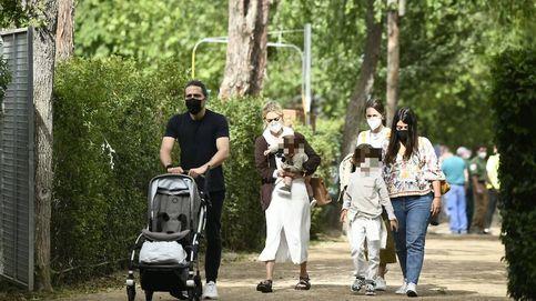 Marta Ortega, Carlos Torretta y sus hijos: un tranquilo paseo en la hípica