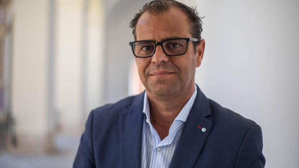 Foto: El periodista Juan de Dios Mellado, propuesto para ocupar la dirección general. (Santana de Yepes)
