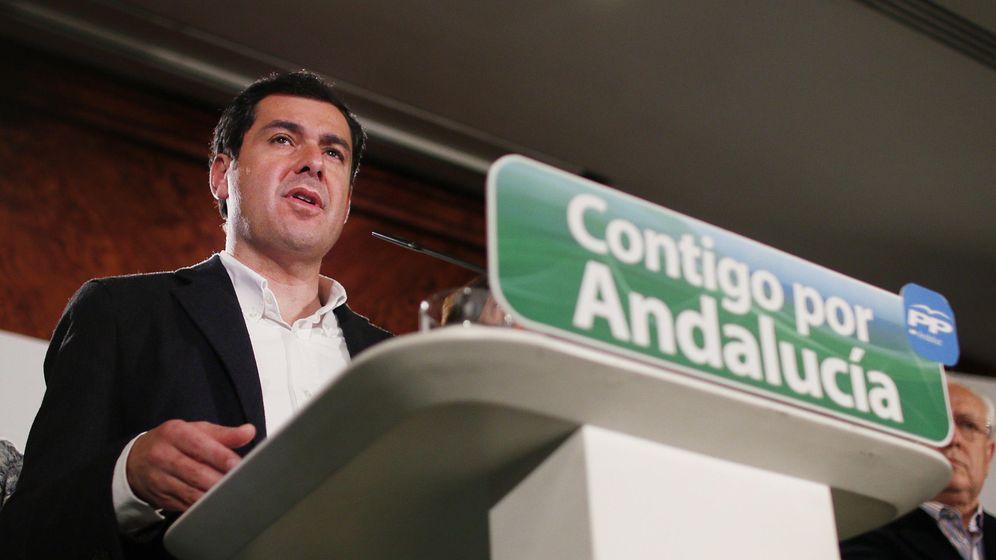 Foto:  El presidente del PP andaluz y candidato a la presidencia de la Junta de Andalucía, Juanma Moreno. (Efe)