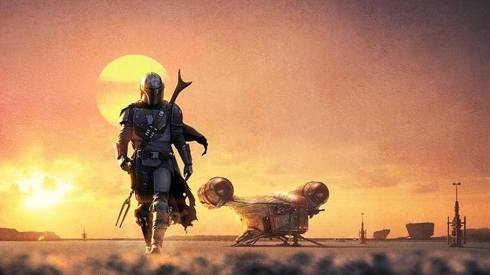 Foto: Imagen promocional de la serie 'The Mandalorian'. (Disney )