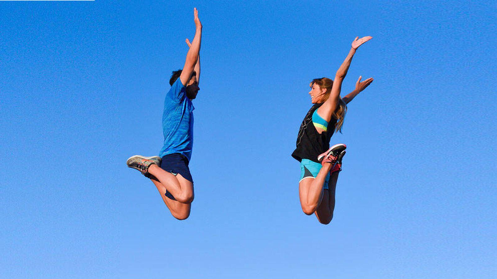Foto: Marta y Jorge, de 2BeFit, te convencerán para que hagas fitness en pareja.