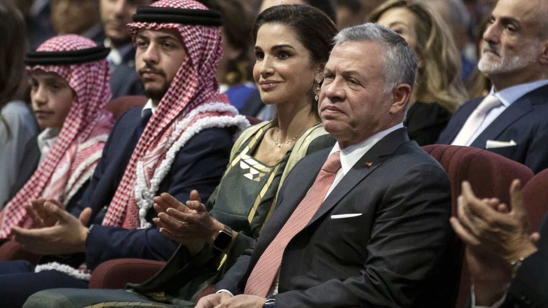 Rania y Abdalá de Jordania. (EFE)