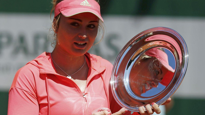 Badosa fue campeona de Roland Garros junior en 2015. (Reuters)
