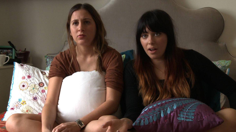 Dos de las jóvenes del documental. (Movistar+)