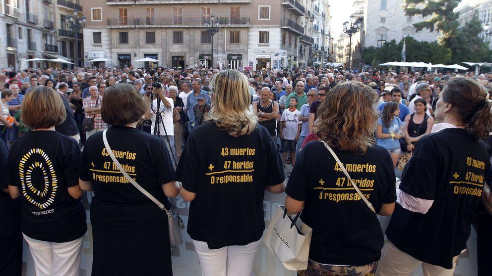 La Audiencia de Valencia reabre la causa del accidente de metro que dejó 43 muertos