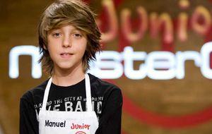 Manuel, nuevo 'MasterChef Junior', está loco de contento