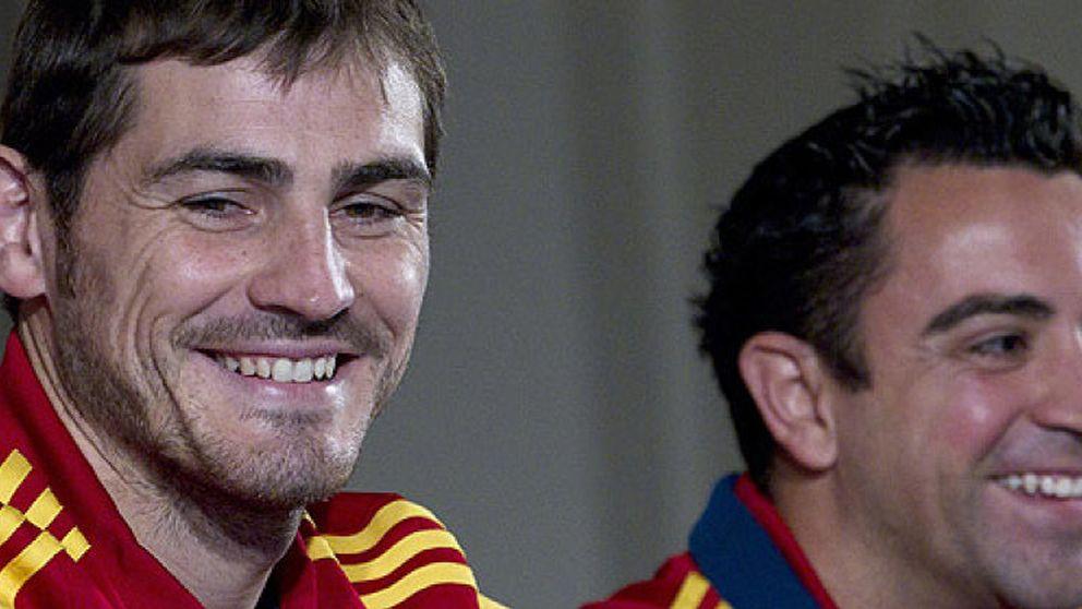 Xavi Hernández pidió a Del Bosque que llamara a Casillas para hacer grupo