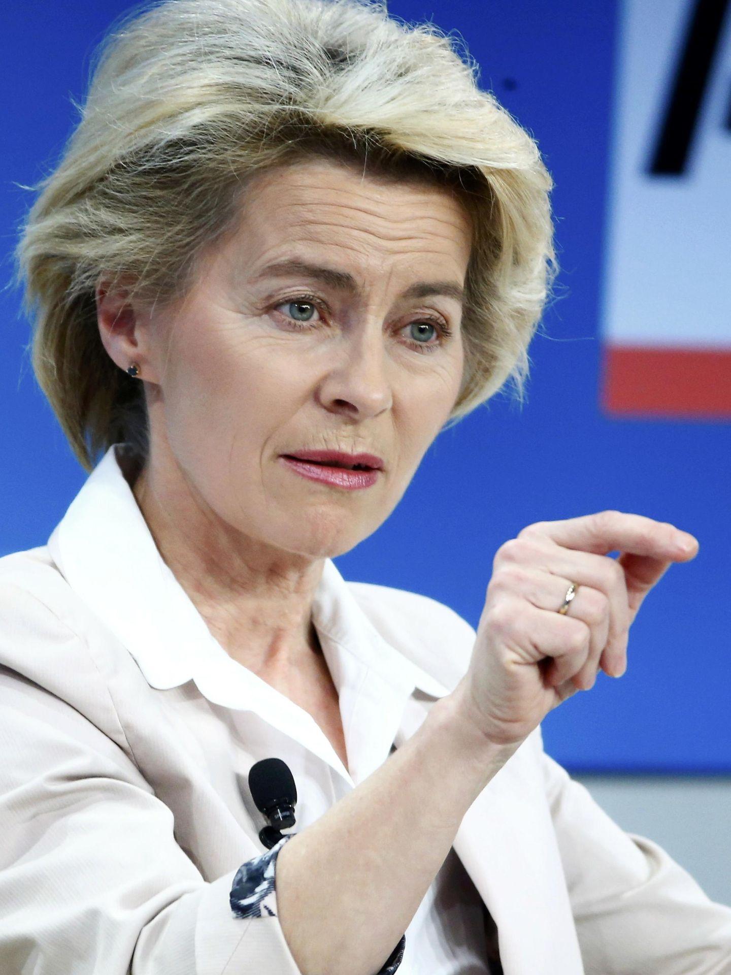 Ursula von der Leyen, ministra de Defensa alemana. (Reuters)