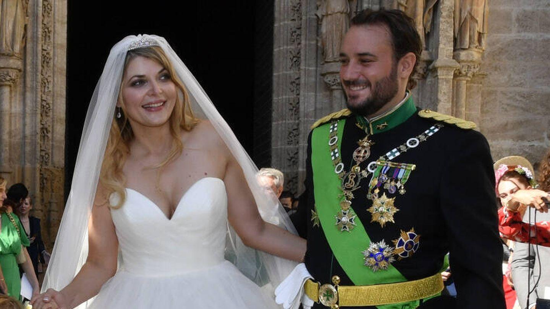 Sophie Elizabeth Karoly y Francisco de Borbón. (Gtres)