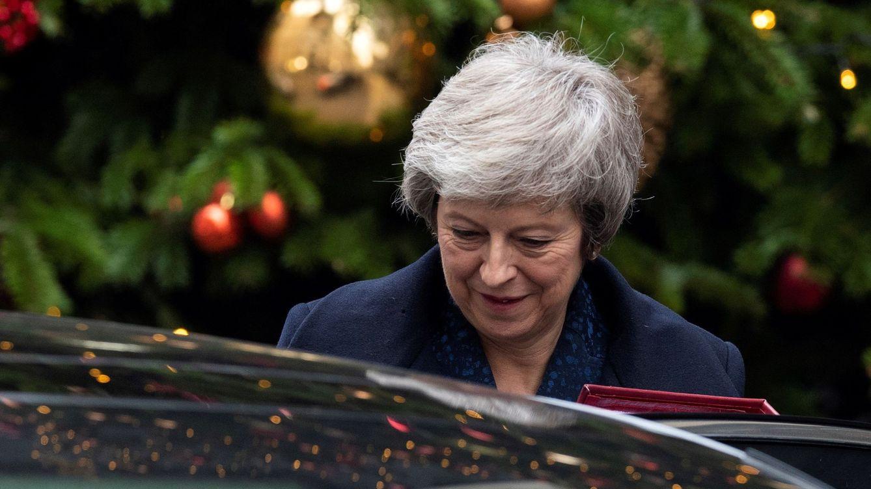 Foto: La primera ministra británica, Theresa May.