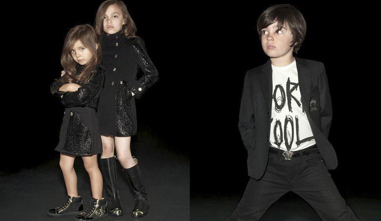 Foto: Colección otoño-invierno Young Versace.