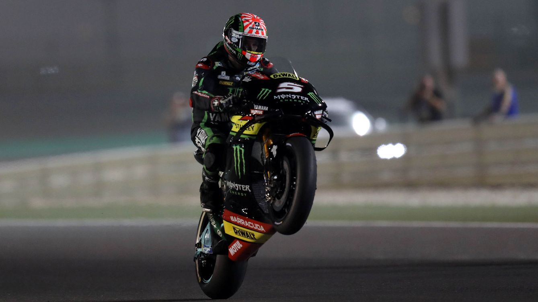Zarco saca los colores a las Yamaha oficiales con la 'pole' en el GP de Qatar