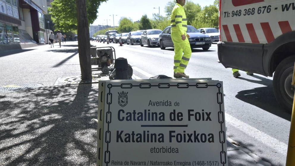 El alcalde de Pamplona devuelve al callejero la avenida del Ejército que eliminó EH Bildu