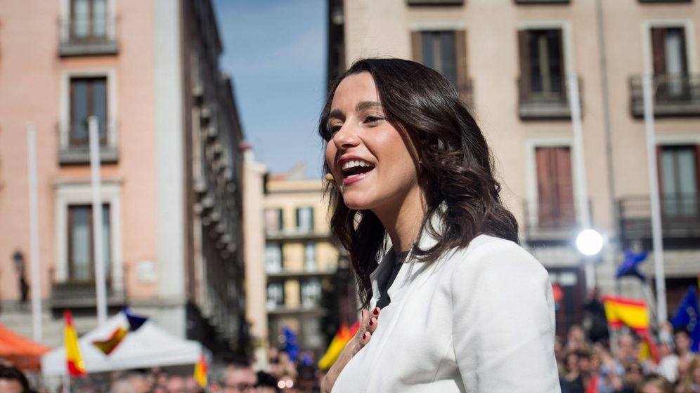 Foto: Inés Arrimadas confirma que se presenta a las primarias para concurrir como número 1 por Barcelona a las generales. (EFE)