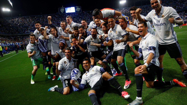 Foto: El Real Madrid celebra su victoria. (Reuters)