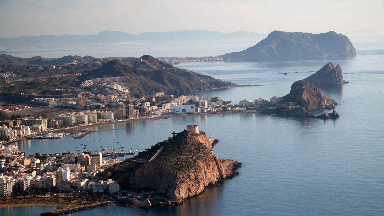El perfil costero de esta villa marinera. (Foto: Ayuntamiento de Águilas)