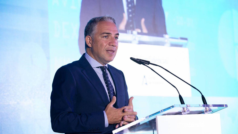 Elías Bendodo, consejero de Presidencia, Administraciones Públicas e Interior en Andalucía.