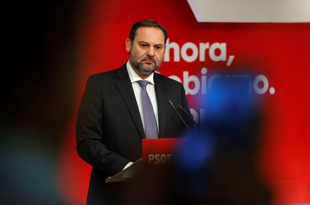 Foto: El secretario de Organización y ministro de Fomento en funciones, José Luis Ábalos, el pasado 11 de noviembre. (EFE)