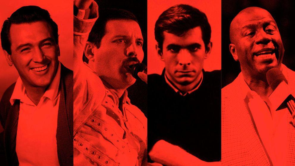De Rock Hudson a Magic Johnson: famosos que reconocieron tener el VIH antes que Charlie Sheen