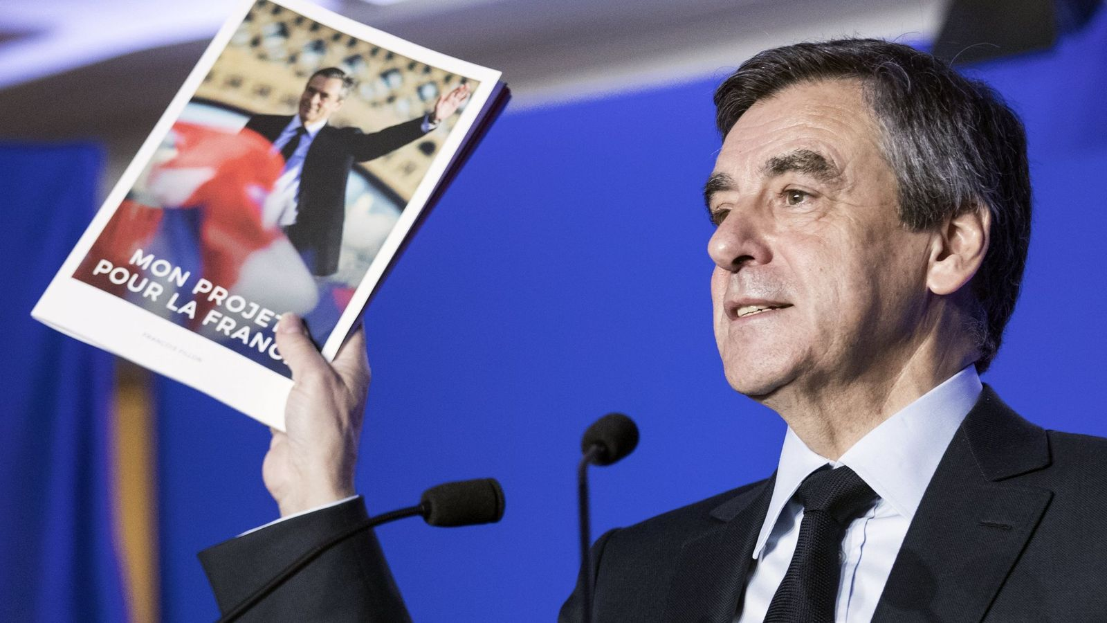 Foto: El candidato conservador a la Presidencia francesa, François Fillon. (Efe)
