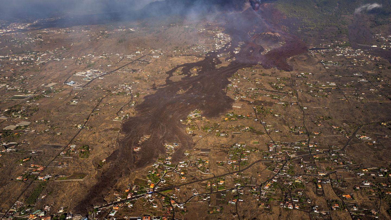 Imagen de la colada de La Palma. (Reuters)