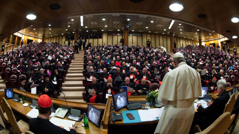 Foto: El papa Francisco, en la reunión para tratar la crisis mundial de abuso sexual. (Reuters)