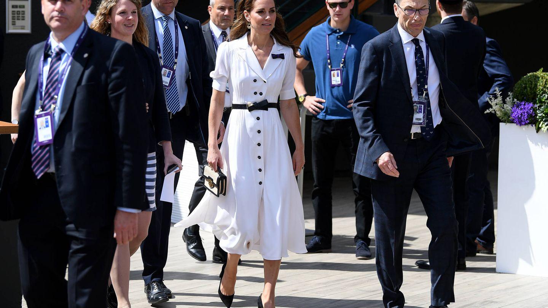 El look de la duquesa en Wimbledon. (Getty)