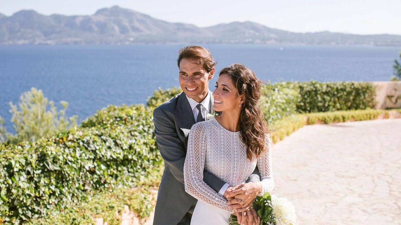 Rafa y Xisca, el día de su boda.