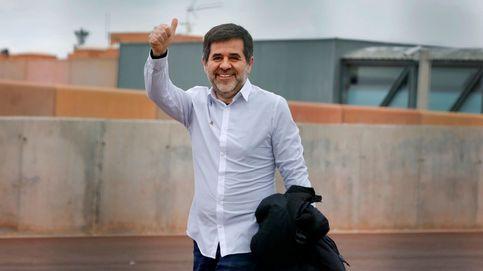 Jordi Sànchez sale de la cárcel de Lledoners en su primer permiso penitenciario