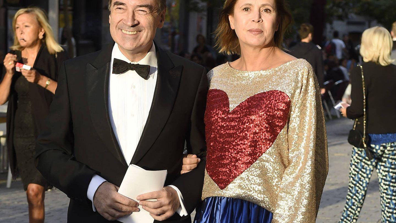 Ágatha Ruiz de la Prada y Pedro J. Ramírez. (Gtres)