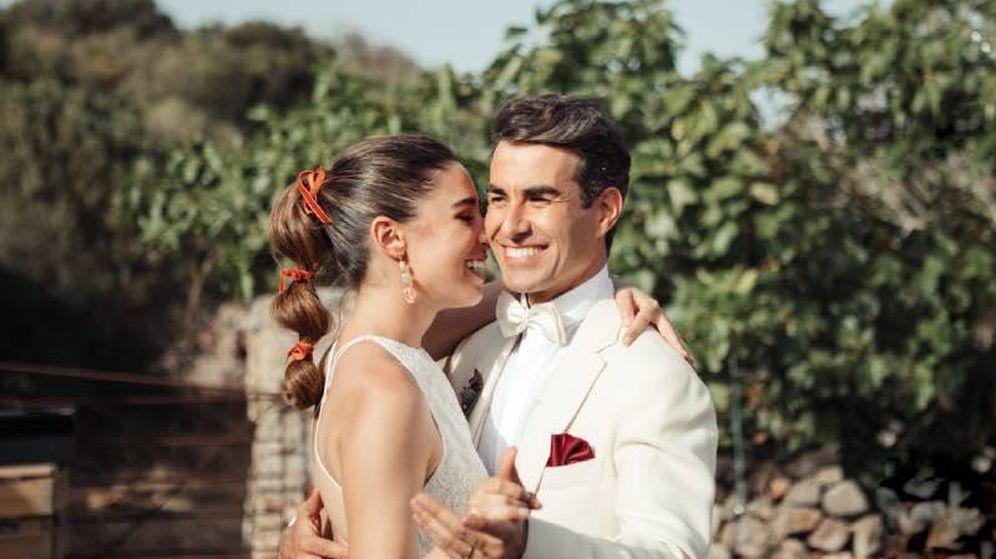 Foto: Candela y Dani, dos novios muy originales. (Foto: María Missaglia)