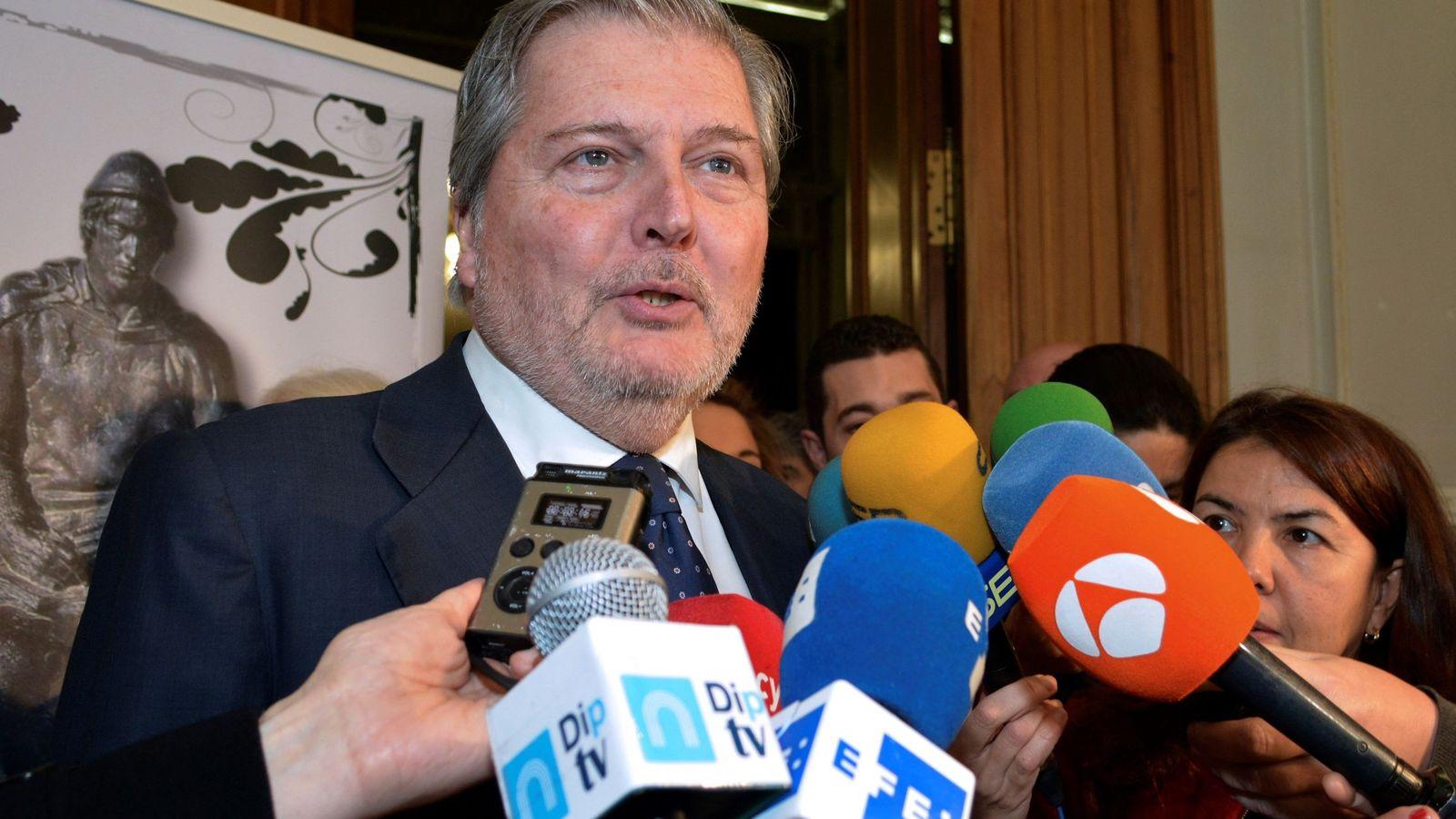 Foto: El ministro de Educación, Cultura y Deporte y portavoz del Gobierno, Íñigo Méndez de Vigo. (EFE)