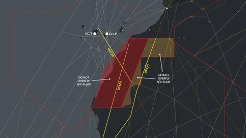 Las autoridades españolas desaconsejan sobrevolar el Sáhara Occidental