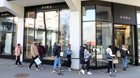 Inditex mantiene un 15% de sus tiendas cerradas tras ganar un 70% menos