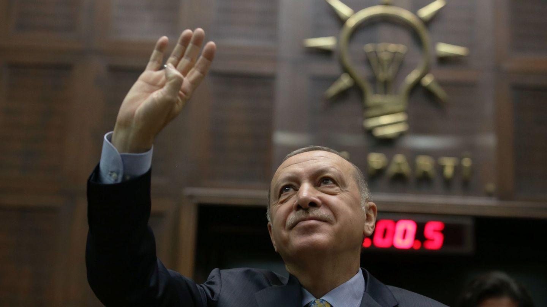 El presidente de Turquía, Recep Tayyip Erdogan. (EFE)