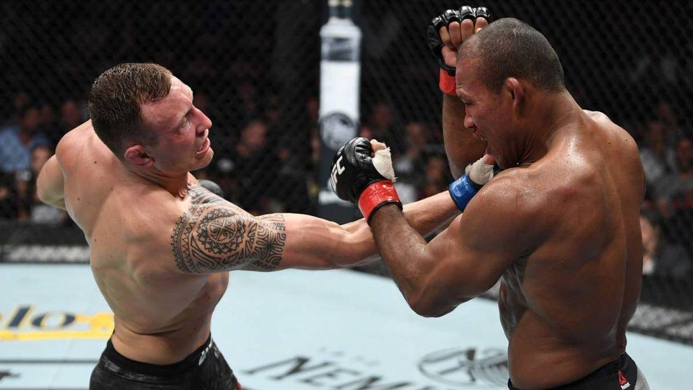 UFC: la sorpresa de Hermansson que hizo sangrar a Jacaré (sin necesidad de KO)